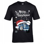 Premium Koolart Christmas Santa Hat Design & T4 Transporter car gift mens t-shirt top